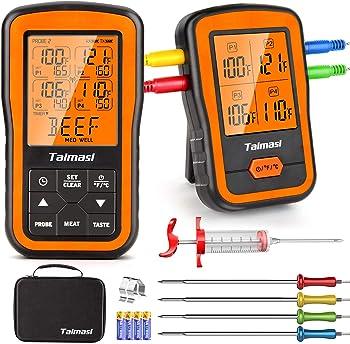 TAIMASI Digital 500 Feet Wireless Meat Thermometer