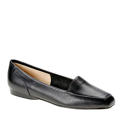 e6534ed5050 Bandolino Women s Liberty Black Leather Loafer ...