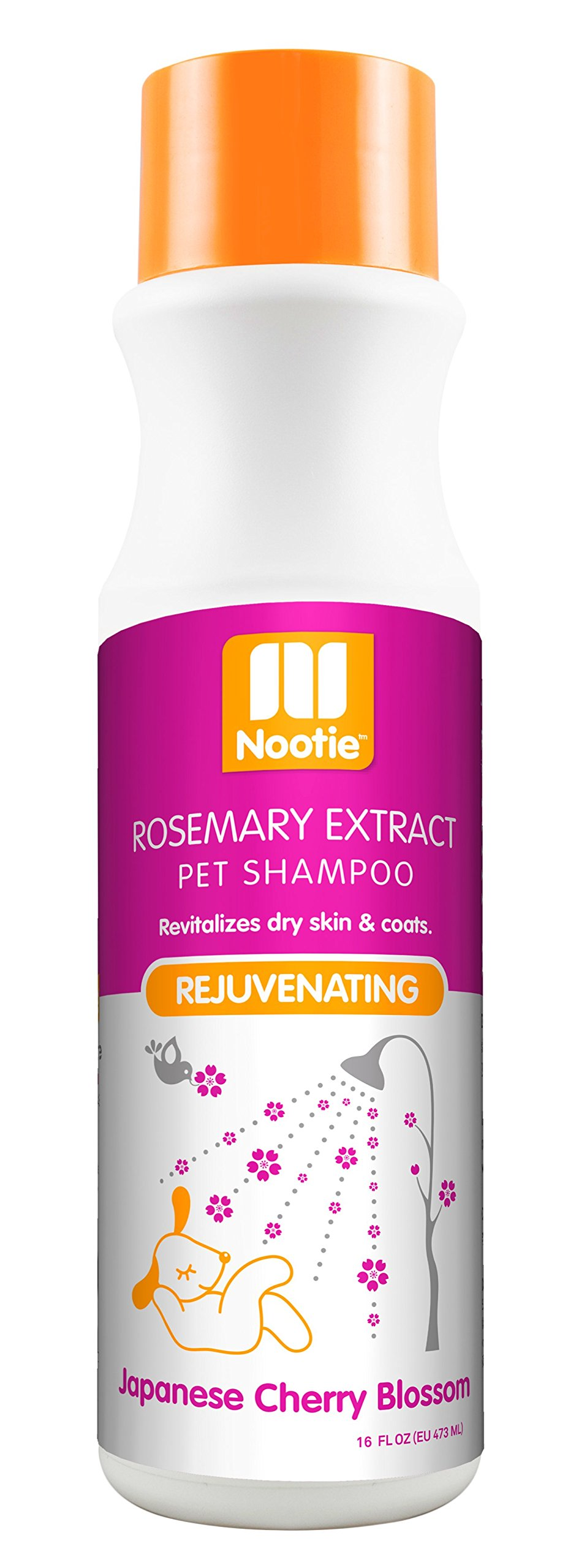 Nootie- Pet Shampoo, 1 Unit 16oz, Japanese Cherry Blossom