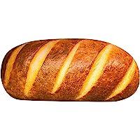 3d simulering brödform kudde, smör rostat bröd mjuk kudde, rolig mat plyschdocka, dekorativ kudde Cuchsion för hem soffa…