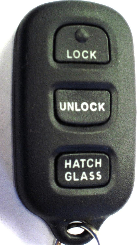 OEM Factory Remote Key Keyless Entry Transmitter for Toyota Alarm Hatch Glass