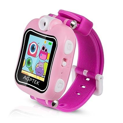 Smartwatch para Niños 4-9 Años, Reloj Táctil Multifunción con Rotación Cámara, Juegos