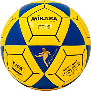 Mikasa FT5 Goal Master Soccer Ball, Blue/Yellow, Size 5