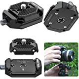 Camera Quick Release Plate, FALCAM F38 Quick Release System QR Plate Camera Tripod Mount Adapter for Canon/Sony Cameras/Zhiyu