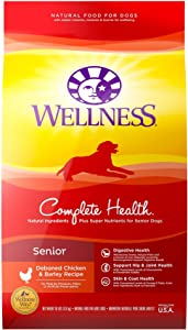 Wellness Complete Health Deboned Chicken and Barley For Senior Dogs