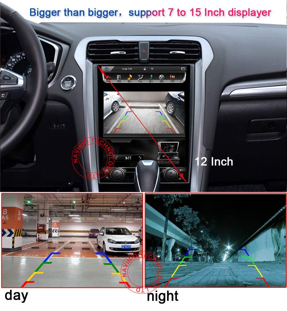 Super HD CCD Sensor IP68 170 Gran Angular Visi/ón Nocturna Vista Posterior C/ámara de Marcha atr/ás para Opel//Chevrolet Cruze Camaro Corvette//Trax//Trailblazer//Roewe 950//Cadillac//Buick//GMC