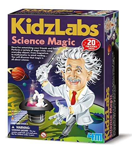 18a61967e Image Unavailable. Image not available for. Color: 4M Kidz Labs Science  Magic