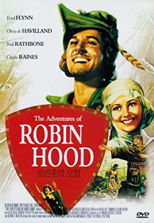 The Adventures Of Robin Hood Import All Regions Errol Flynn Olivia De Haviland Basil Rathbone Claude Rains Michael Curtiz Movies Tv