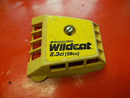 Amazon com: McCulloch Chainsaw Wildcat AIR Filter Cover