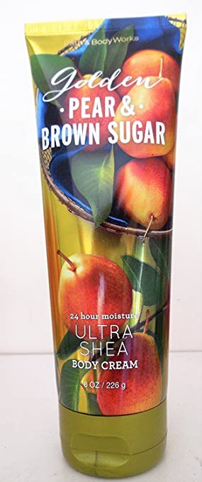 Bath and Body Works Golden Pear Brown Sugar Cream