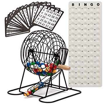 Amazon.com: GSE Games & Sports Expert Deluxe Juego de Bingo ...