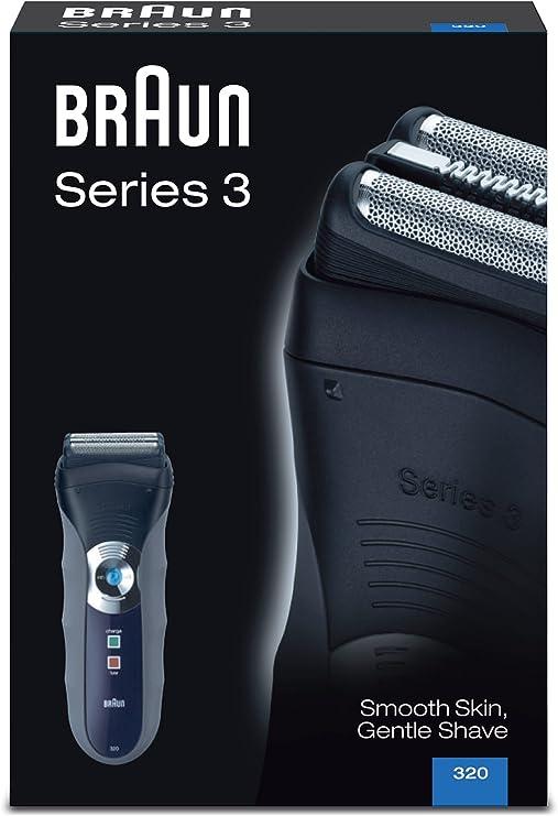 Braun Afeitadora Series 3 320 Box: Amazon.es: Salud y cuidado personal