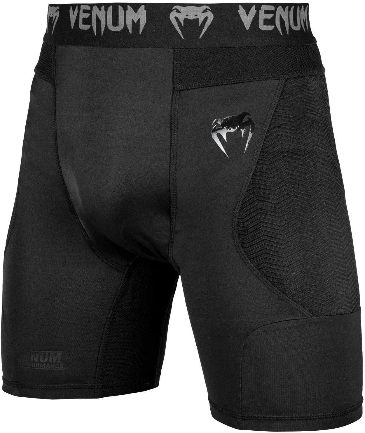 Venum MMA Noir G-Fit Short Compression Maille//Lycra Neuf