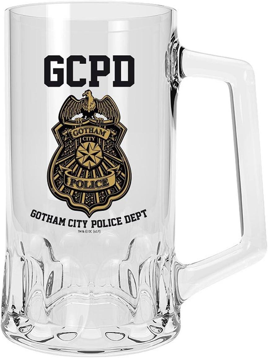 Vaso/Jarra de Cerveza DC Comics - GCPD/Gotham City Police Dept