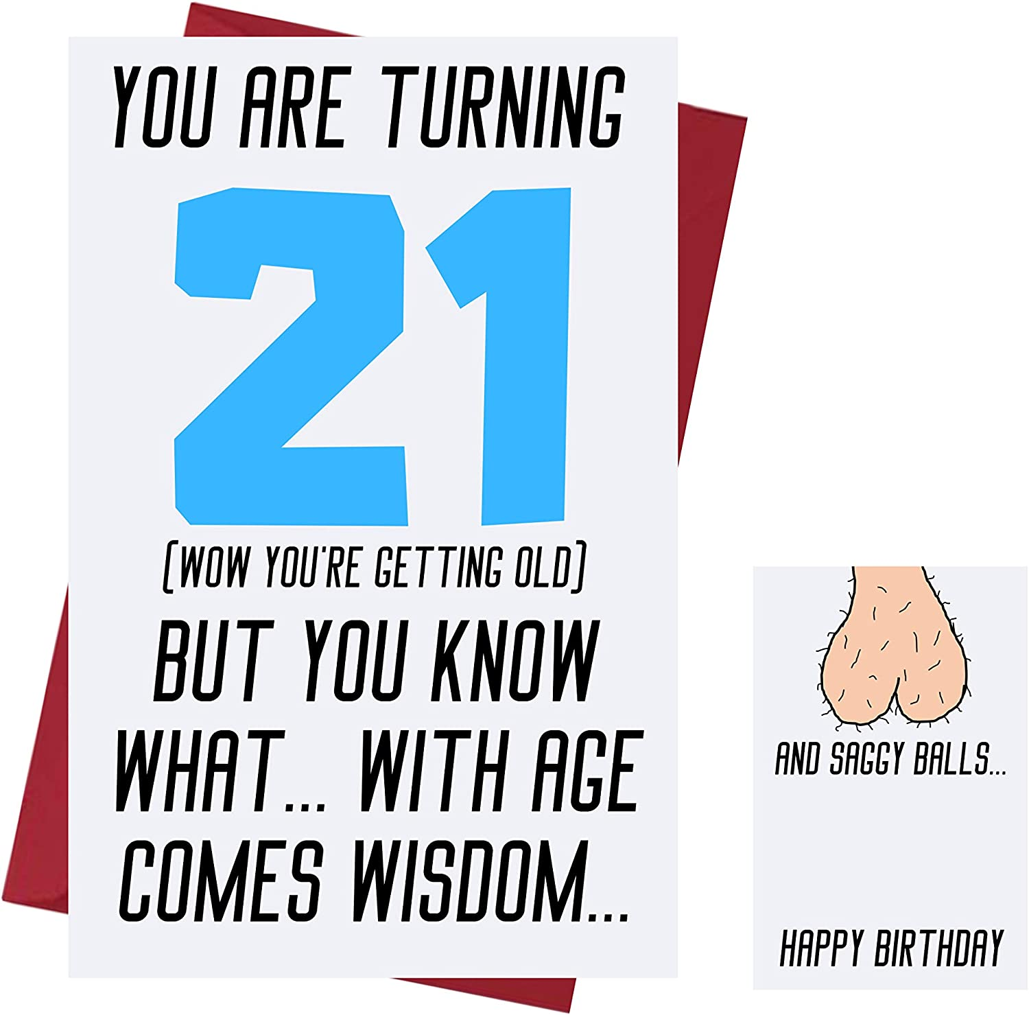 BIRTHDAY CARD ~ 21st
