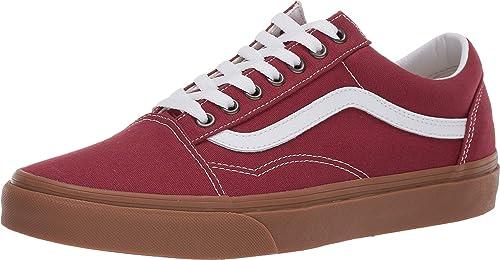 baskets vans old skool rouge