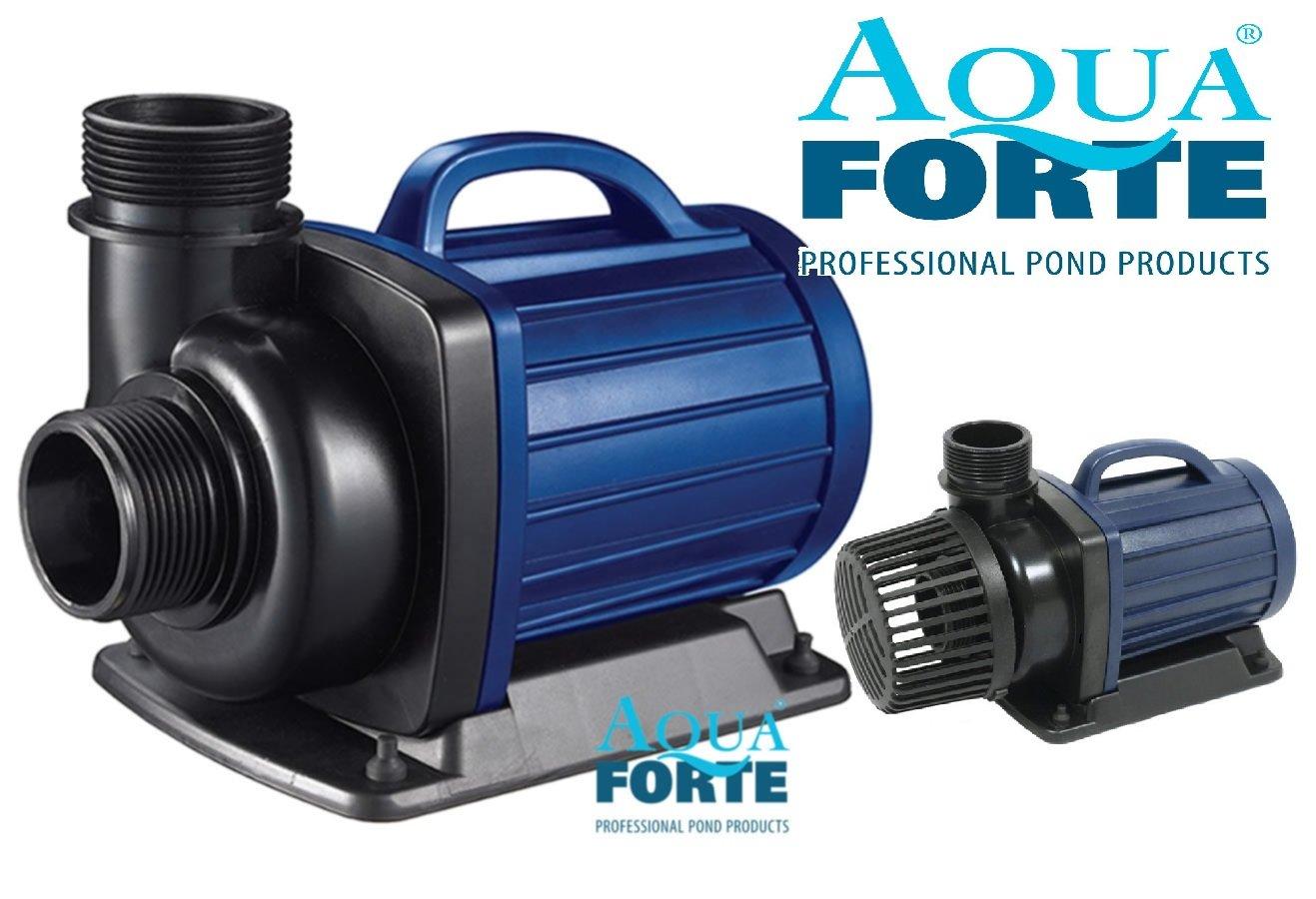 AQUAFORTE DM 15000 de filtres/de Pompe de Bassin 15 m³ /h, Hauteur de refoulement 6 m, 135 W Hauteur de refoulement 6m 135W RD631
