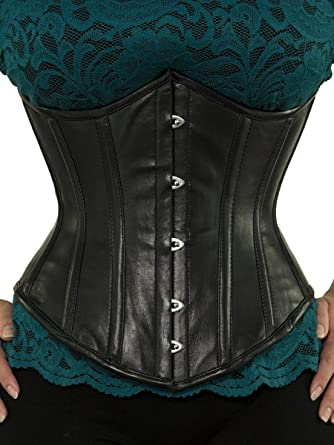 0dd52734be Amazon.com  Orchard Corset CS-345 Leather Corset  Clothing