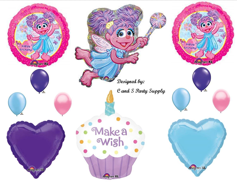 Amazon.com: Abby Cadabby Cupcake BIRTHDAY PARTY Balloons Decorations ...