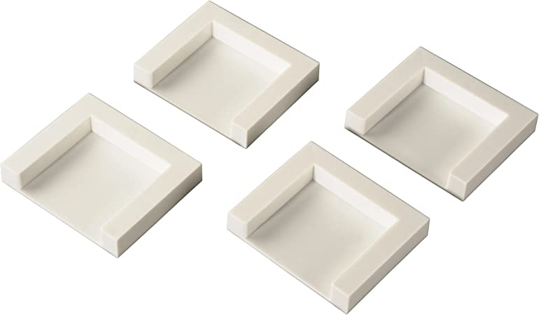 Xavax 00111310 - Placas adhesivo para fijar secadora (4 unidades ...