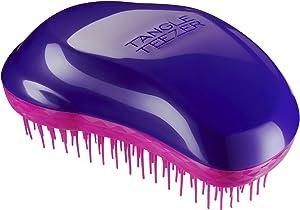 Tangle Teezer The Original Brush, Wet or Dry Detangling Hairbrush for All Hair Types - Plum Delicious