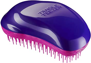 Amazon Com Tangle Teezer The Original Brush Wet Or Dry Detangling Hairbrush For All Hair Types Plum Delicious Beauty