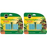 Miracle-Gro Indoor Plant Food, Fertilizer Spikes, 2.2 Ounce (2 Pack)