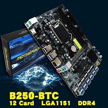 Placa Madre LGA1151 CPU DDR4 Memoria 12 Tarjeta USB3.0 ...