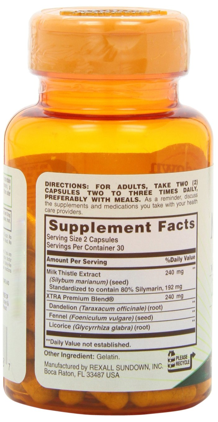 Sundown Naturals Milk Thistle 240 mg, 60 Capsules by Sundown Naturals (Image #8)