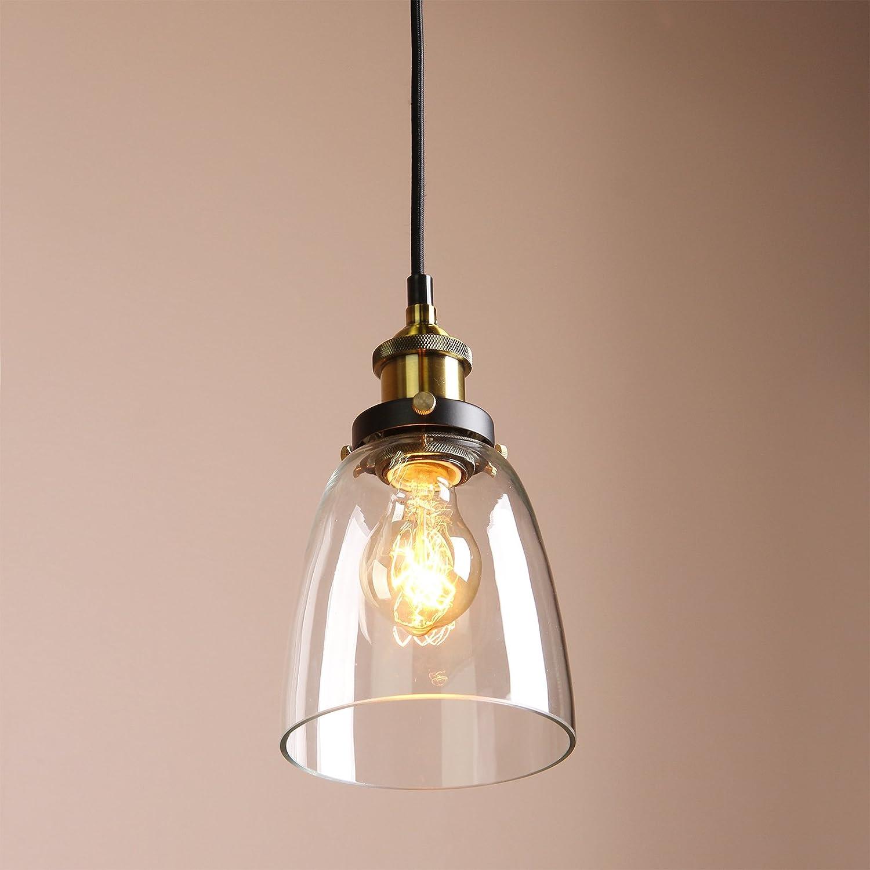 pendant lighting edison. Buyee® Stylish Different Modern Vintage Industrial Edison Glass Shade Loft Coffee Bar Kitchen Hanging Pendant Lamp Light: Amazon.co.uk: Lighting