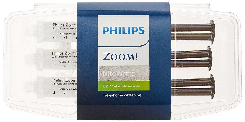 Zoom Nite White 22% Teeth Whitening Gel Philips Zoom
