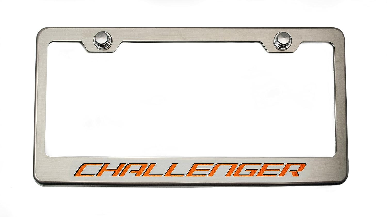 Cf American Car Craft 152023-ORG Orange Challenger Rear Tag Frame