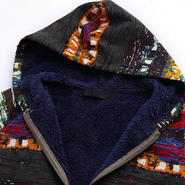 Euzeo Tallas Invierno Lido Cá Mujer Impreso Grandes Abrigos wxIBqF85nZ
