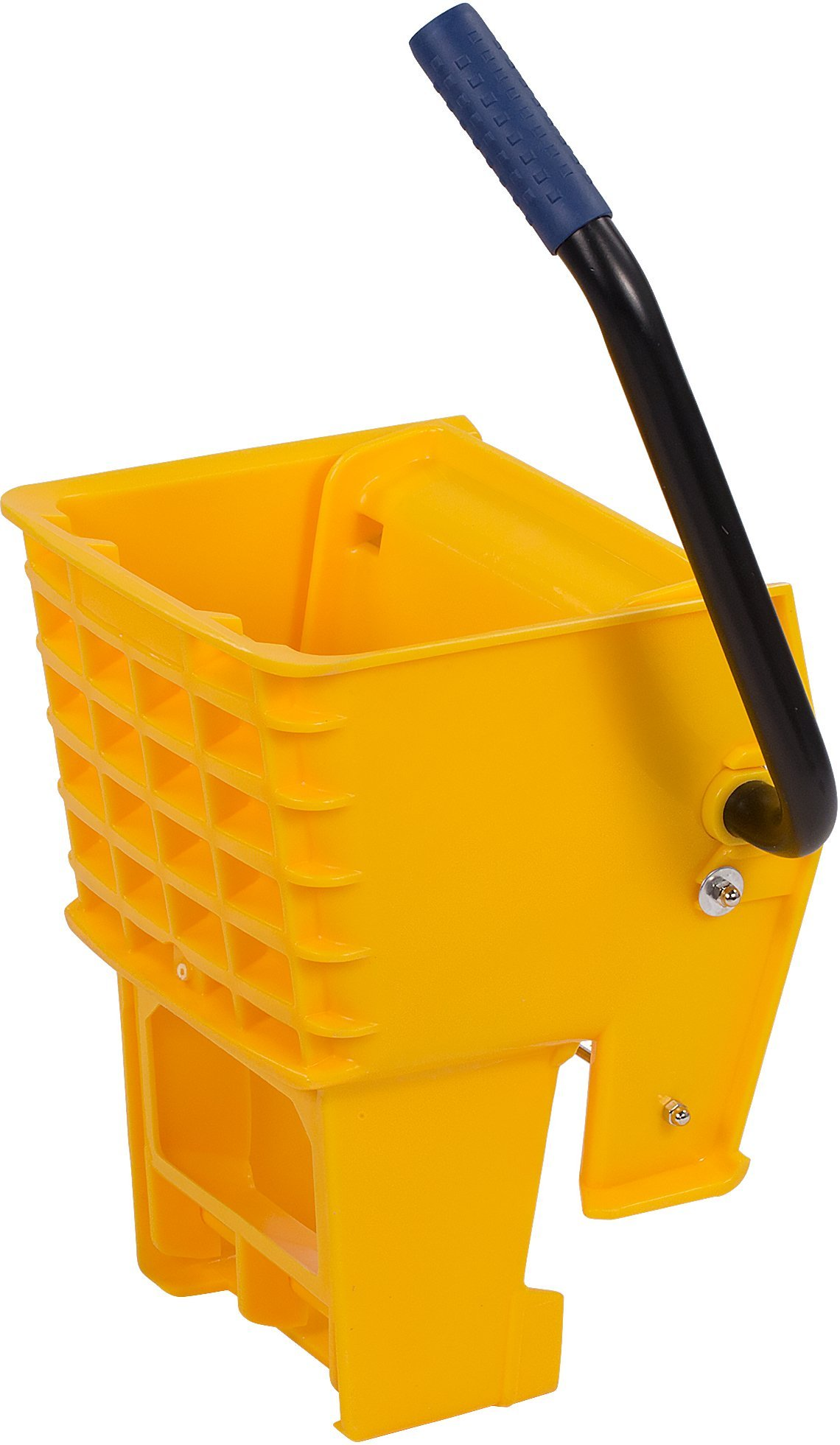 Carlisle 36908W04 Side Press Wringer for 26-qt. and 35-qt. Mop Bucket, 15'' L x 11'' W x 9.88'' H, Yellow