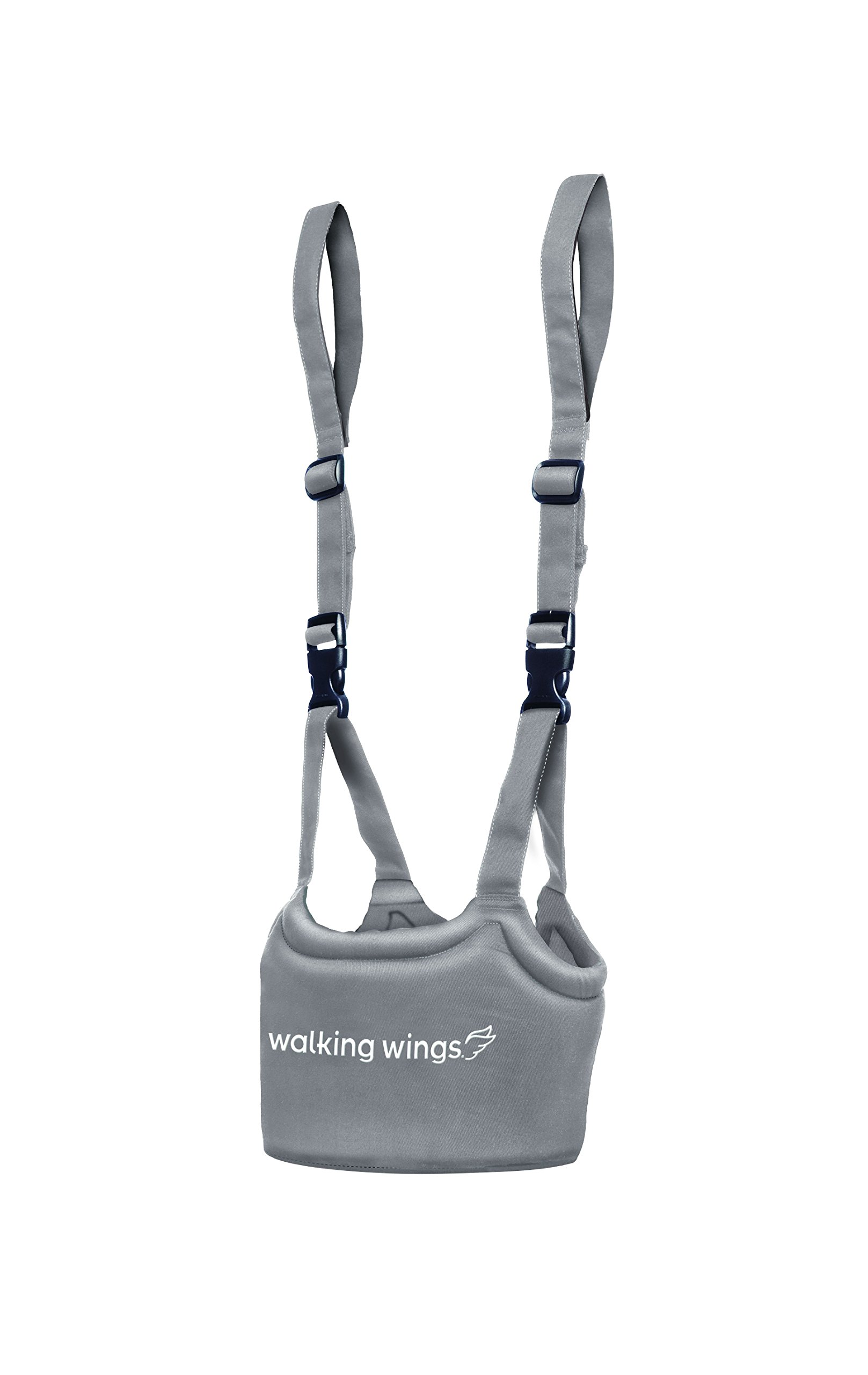 UpSpring Baby Walking Wings Learning To Walk Assistant, Gray