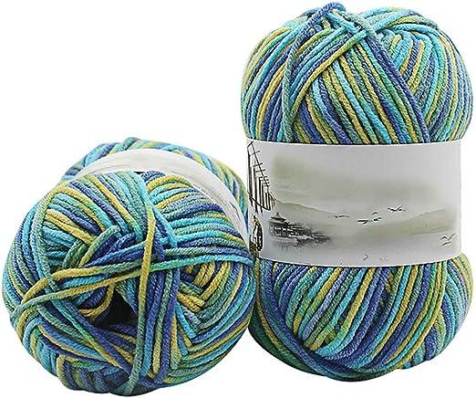 Charmwink – Juego de ovillos de lana para ganchillo, para tejer ...