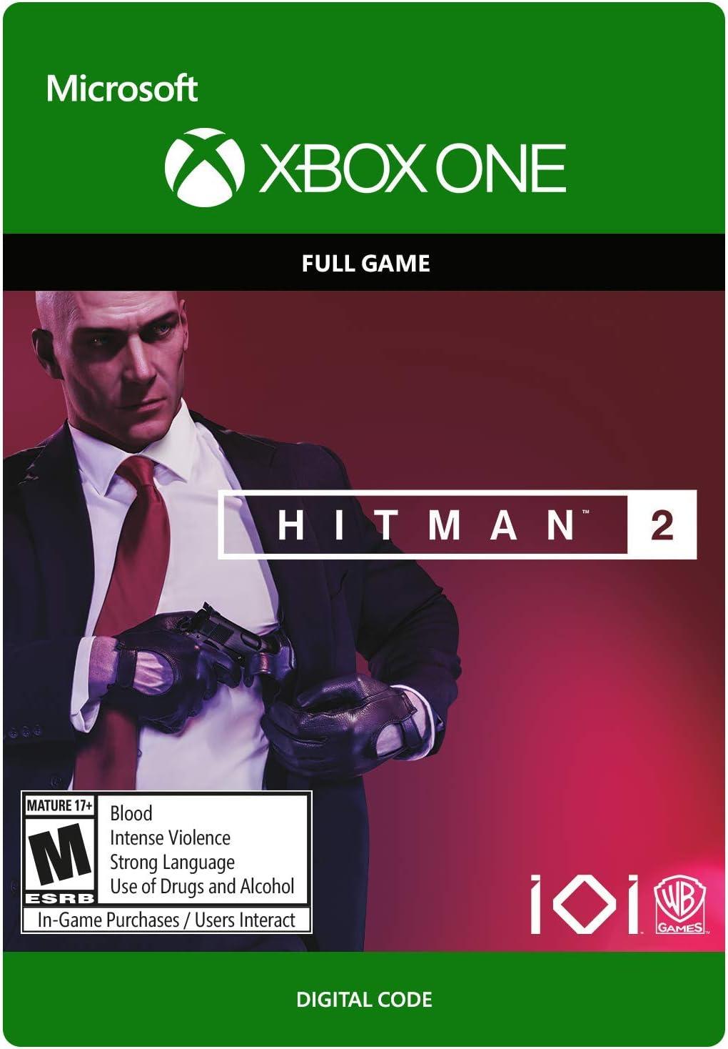 Amazoncom Hitman 2 Gold Edition Xbox One Digital Code