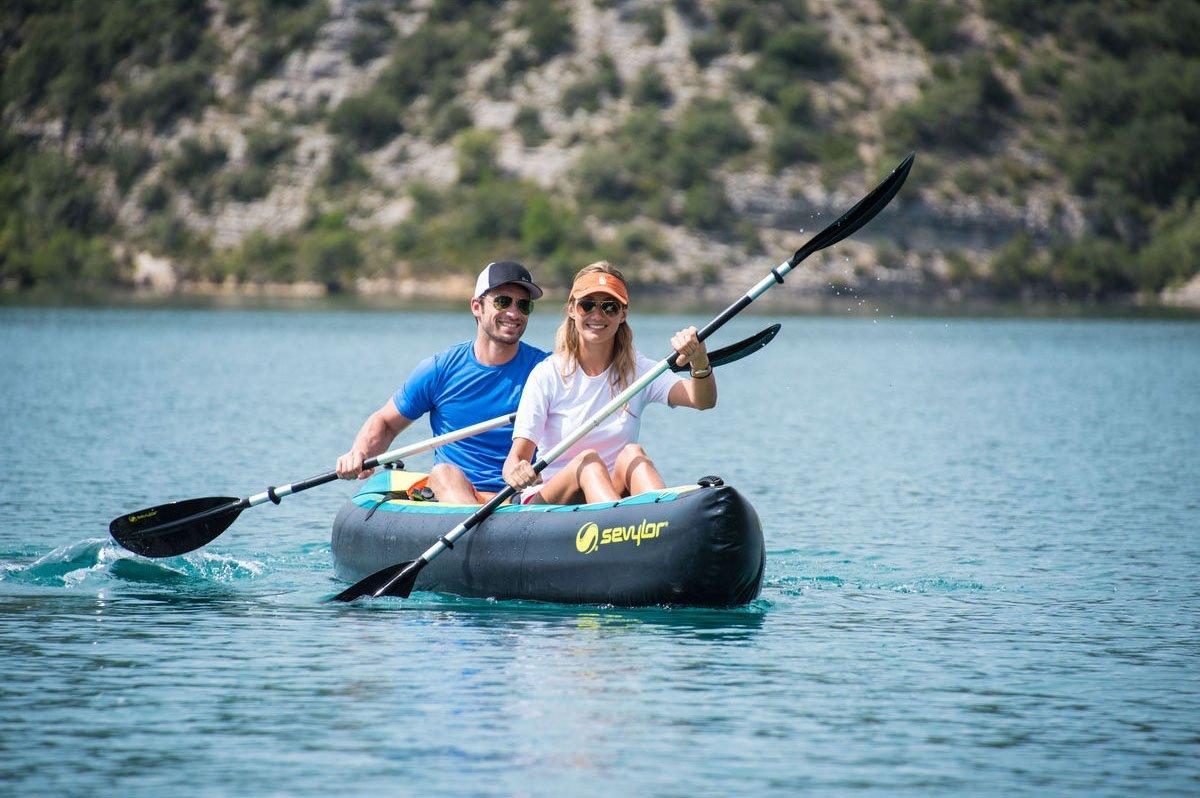 Canoa Kayak Modelo Ottawa marca Sevylor 2 + 1 plazas - Incluye ...