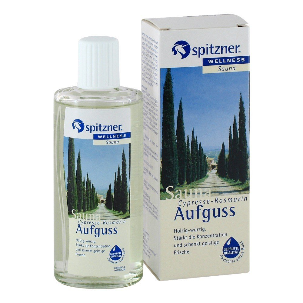 Cypress & Rosemary Sauna Infusion (190 ml) from Spitzner