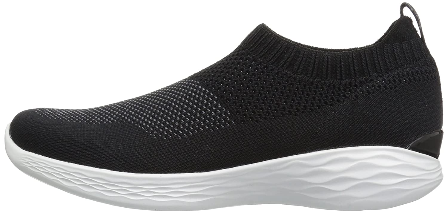 Skechers Damen You-Pure Slip Slip You-Pure On Sneaker Schwarz (schwarz/Weiß) d51138
