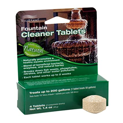 TotalPond Fountain Cleaner Tablets