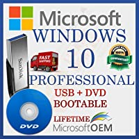 MS Windows 10 Professional | Con controlador USB