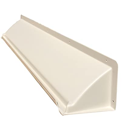 Exceptionnel DOORBRIM Door Overhead Rain Diverter For Winter Climates   Almond