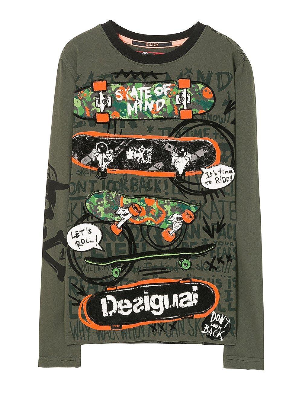 Desigual TS_Fermin, T-Shirt Bambino 71T36C55040
