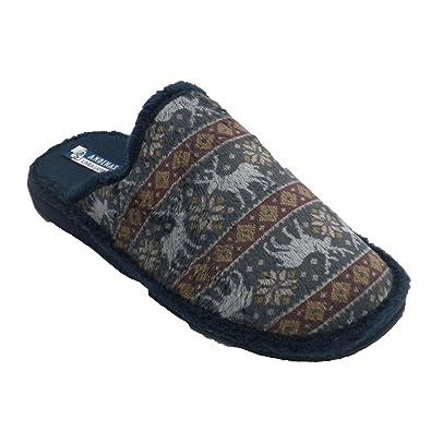 Zapatos azul marino de invierno Andinas para hombre WVC3Od3G