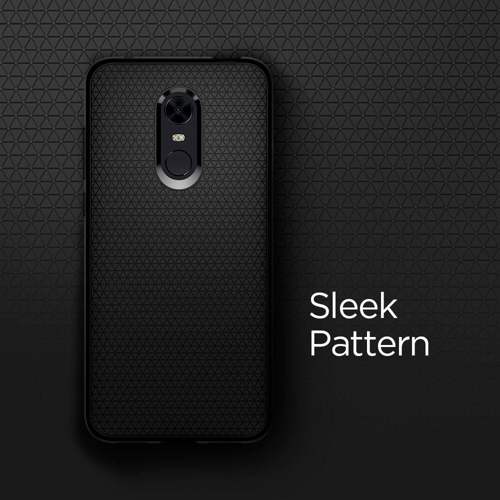 timeless design ec72a 1a80d Spigen [Liquid Air] [Black] Case for Xiaomi Redmi 5 Plus, Flexible TPU  Durable Slim Protection Phone Cover for Redmi 5 Plus Case (2018) -  S10CS23176