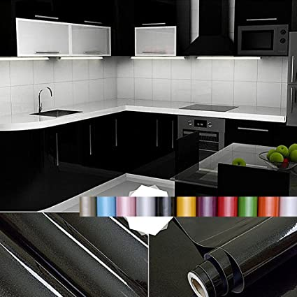 Exceptionnel Liveinu Wall Sticker Contact Paper Waterproof Self Adhesive Kitchen  Wallpaper Rolls Stickers For Cupboard Furniture Wardrobe