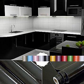 Liveinu Aufkleber Küchenschränke PVC Tapeten Küche Selbstklebend ...