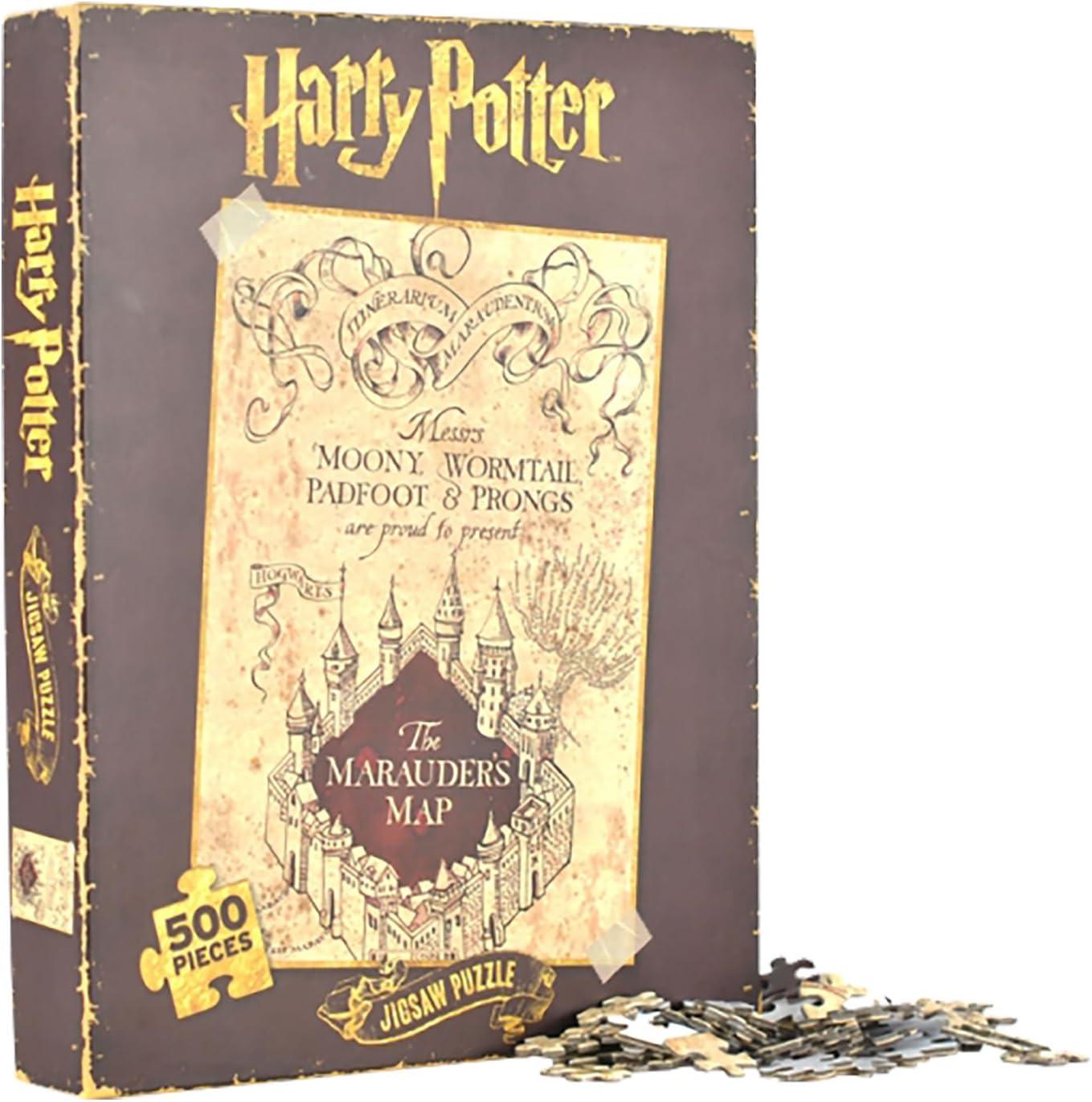Harry Potter Marauders Map 500 Piece