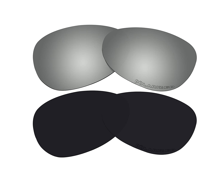 全日本送料無料 2ペア偏光交換レンズOakley S Crosshair Crosshair S B01CHC24SO (Small) のブラック&ブラックミラーサングラス B01CHC24SO, e-バザール ライフインテリア:735586d8 --- ciadaterra.com